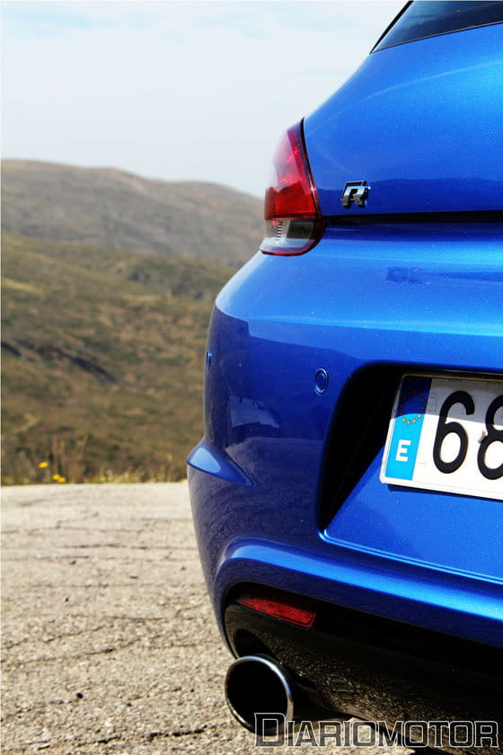 Prueba VW Scirocco R