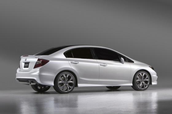 Honda Civic Si Coupé y Civic Sedán Concept