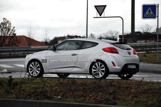 Motor 1.6 turbo y otros detalles del Hyundai Veloster europeo