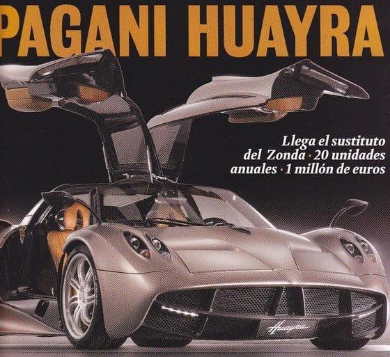 Pagani Huayra, ¿eres tú?