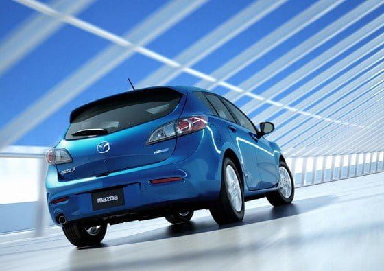 Mazda 3, ligero lavado de cara