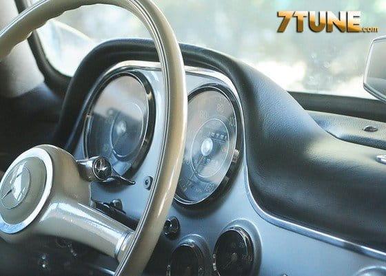 Un Mercedes 300 SL, nueve años sin moverse en Japón