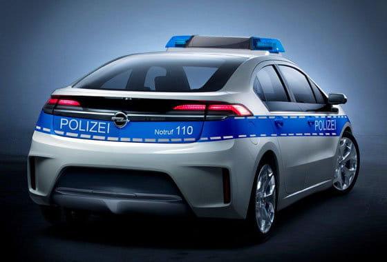 Opel Ampera de policía