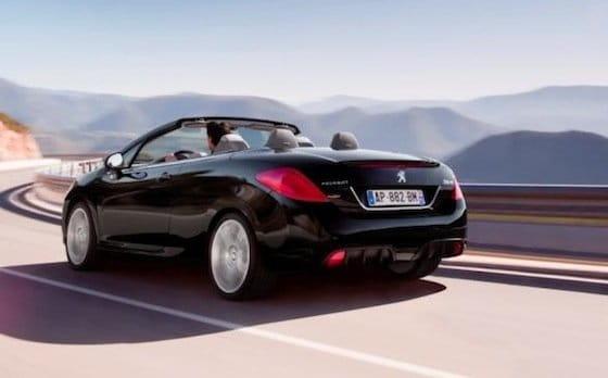 Peugeot 308 CC 2011