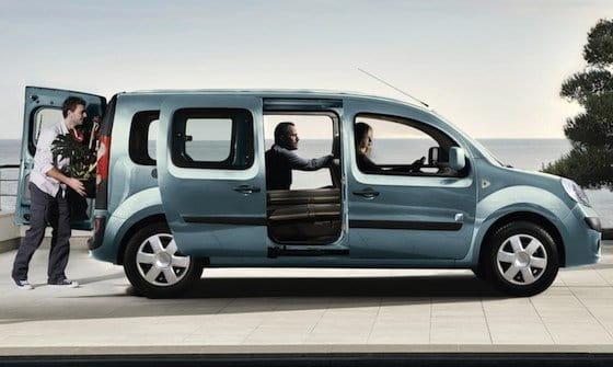 Renault Kangoo Maxi Z.E., el concept eléctrico llega a la furgoneta intermedia