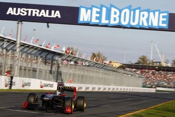 Lotus Renault - Gran Premio de Australia 2011