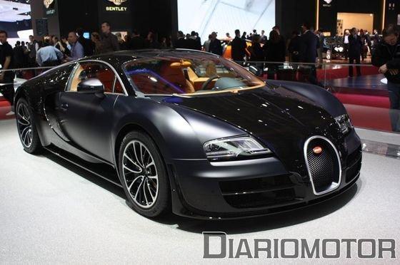 Bugatti Veyron Super Sport en Ginebra