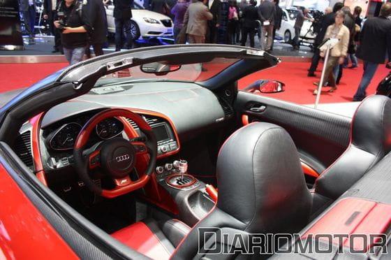ABT presente en Ginebra un precioso R8 Spyder rojo y un R8 plateado