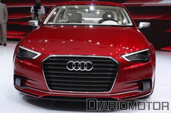 Audi A3 Concept en el Salón de Ginebra