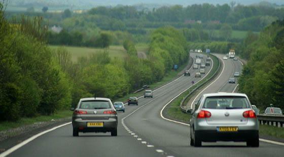 Autopista Reino Unido