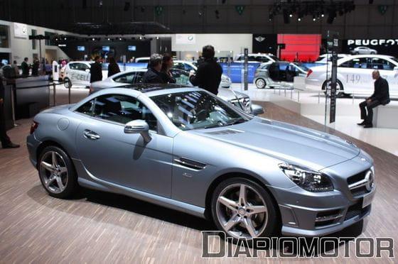 Mercedes SLK 2011 en Ginebra