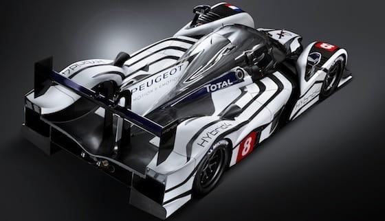 Peugeot 908 Hybrid4, diésel y eléctrico para las 24 Horas de Le Mans