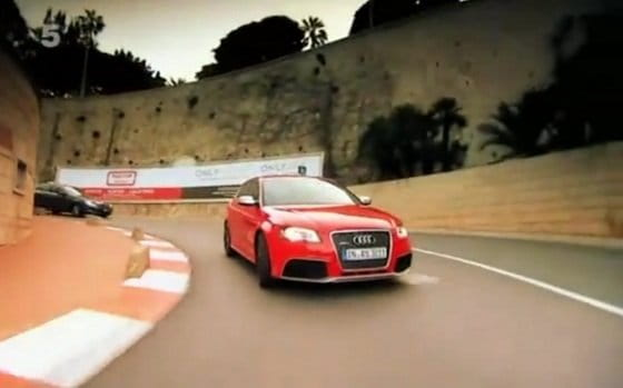 Audi RS3 Sportback, en Fifth Gear