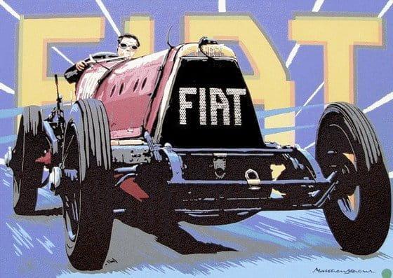 Mefistofele, el Fiat que batió todos los récords en 1924