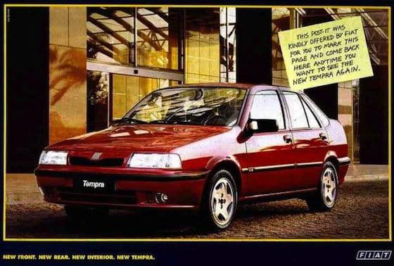 Fiat Tempra (Brasil, 1999)