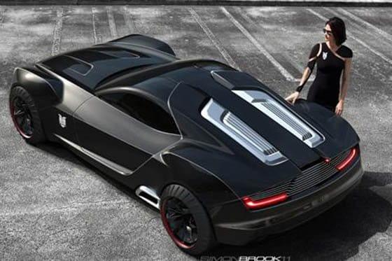 Propuestas de diseño Ford Interceptor Mad Max