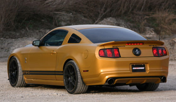 GeigerCars Shelby GT640 Golden Snake