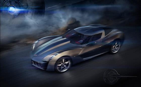 50th Anniversary Corvette Stingray Concept