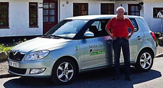 Más de 2.000 Km sin repostar con Gerhard Plattner y un Skoda Fabia Greenline