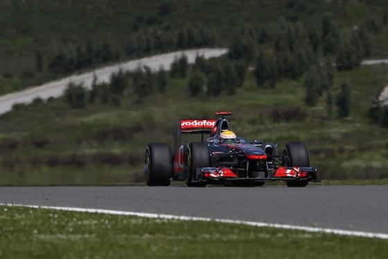 Lewis Hamilton (McLaren) - GP Turquía 2011