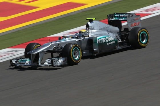 Nico Rosberg (Mercedes GP) - GP Turquía 2011