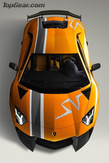 Recreaciones del Lamborghini Aventador LP800-4 Super Veloce