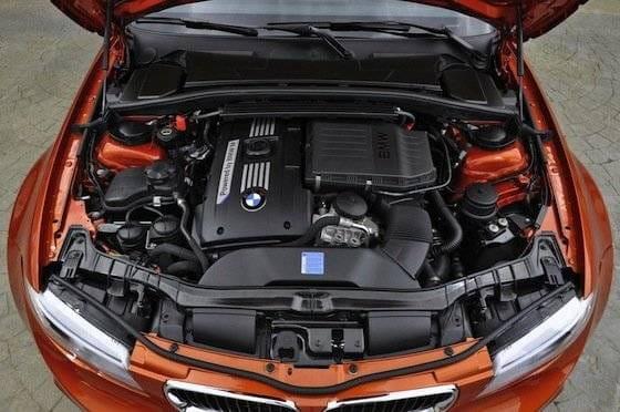 Motor del BMW Serie 1 M Coupé