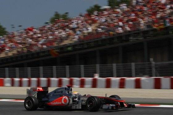 Lewis Hamilton (McLaren) - GP de España 2011