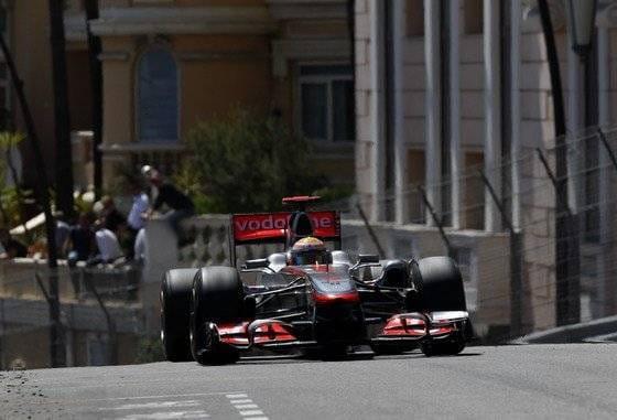 Lewis Hamilton (McLaren) - GP Mónaco 2011
