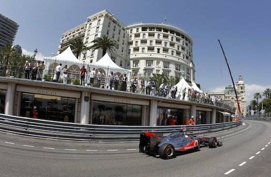 McLaren - GP de Mónaco 2011
