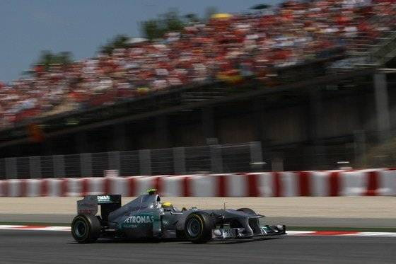 Nico Rosberg (Mercedes GP) - GP España 2011