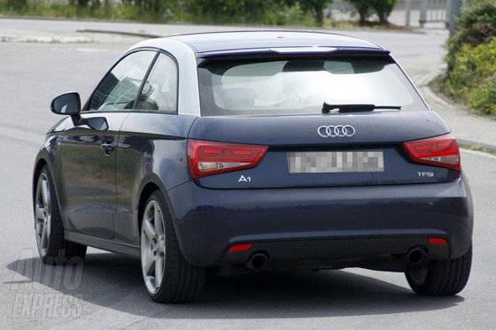 Fotos espía del Audi S1