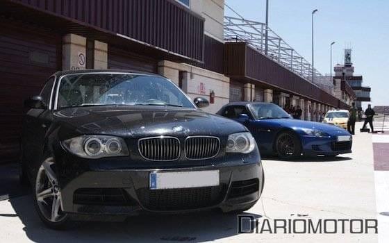 Track Day VIP de la Escuela Española de Pilotos en Albacete; BMW 135i Coupé y Honda S2000