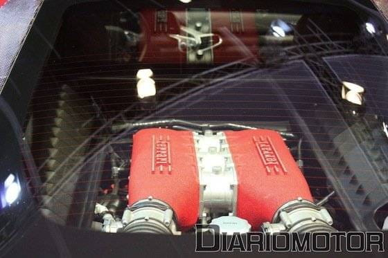Motor 4.5 V8 del Ferrari 458 Italia