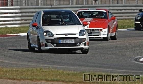 Track Day VIP de la Escuela Española de Pilotos en Albacete con un Fiat Punto Evo Abarth