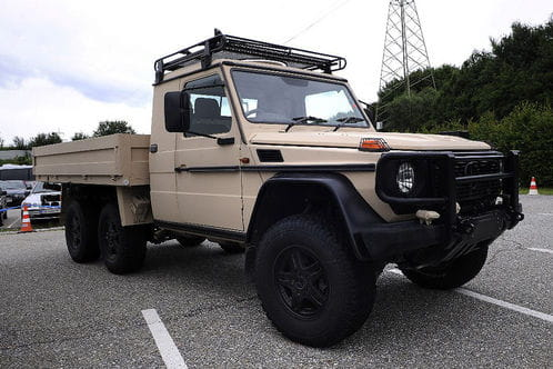 Mercedes Clase G 6x6, la pick-up militar - Diariomotor