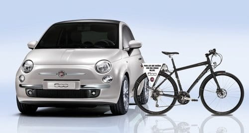 Una Bici El U00e9ctrica De Sustituci U00f3n Para El Fiat 500