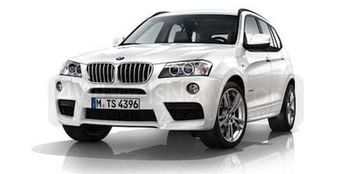 bmw x3 2011 con paquete m sport el m light se desvela diariomotor. Black Bedroom Furniture Sets. Home Design Ideas
