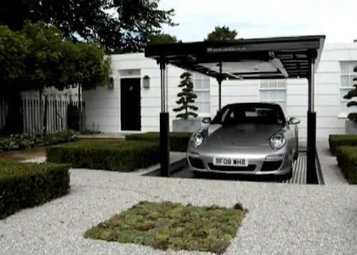 Cardok guarda tu coche bajo tierra en el jard n diariomotor - Garaje de coches ...