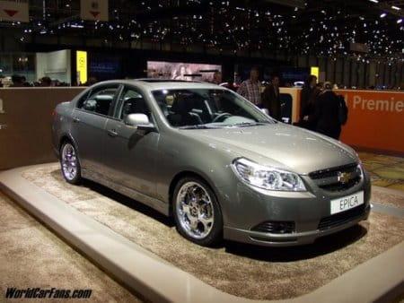 Un Sed 225 N Para Europa Chevrolet Epica Diariomotor