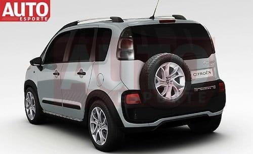 citro n aircross una c3 picasso crossover para suram rica diariomotor. Black Bedroom Furniture Sets. Home Design Ideas