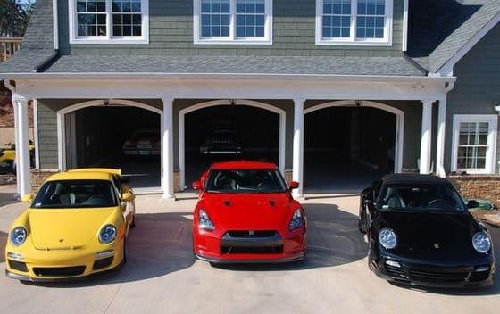 El concepto de un garaje de ensue o diariomotor - Garaje de coches ...