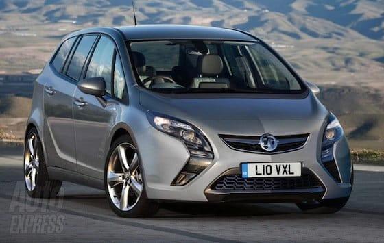 El Nuevo Opel Zafira Reconstruido Digitalmente Y Razonablemente
