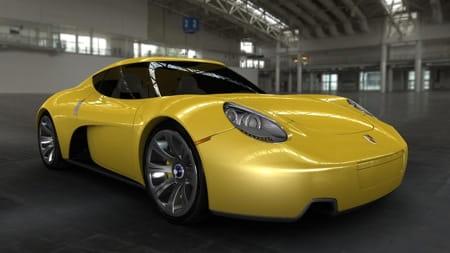 Porsche carma concept dise o estudiantil diariomotor for Porche diseno