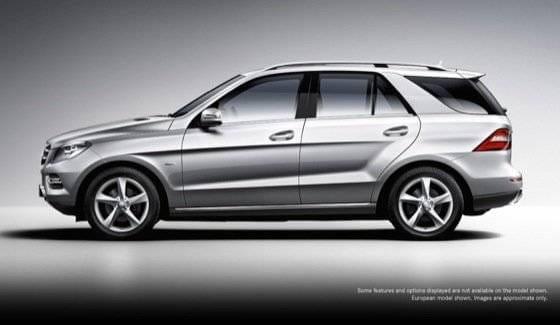 Mercedes ML 2012