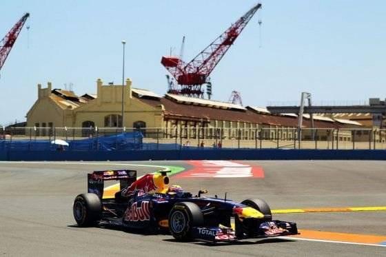 Mark Webber (Red Bull) - GP Europa 2011