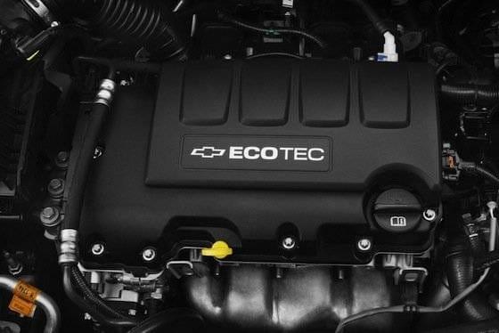Motor Ecotec del Chevrolet Aveo