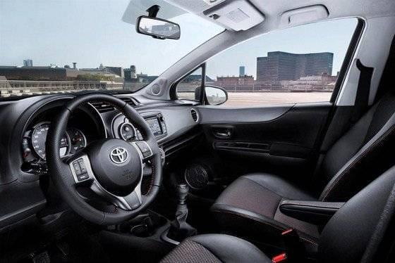 Toyota Yaris 2012, versión europea