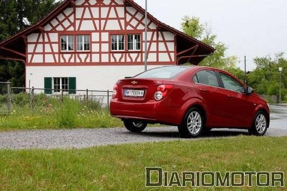 Chevrolet Aveo, precios y equipamiento: comprobamos su carácter dinámico en Zurich (II)