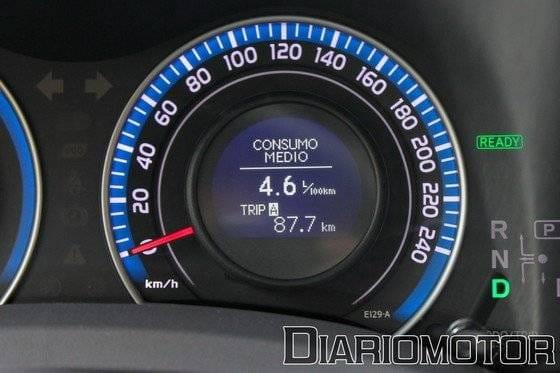 Toyota Auris Híbrido HSD Advance, a prueba (II)